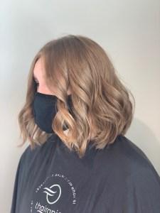 Haircut by hair stylist, Lumi Watts