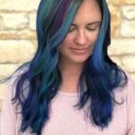 Fashion hair color & haircut by hair stylist Shaundae Jaggears