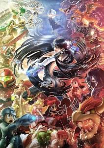 ilustração de Eiji Funahashi (PlatinumGames)