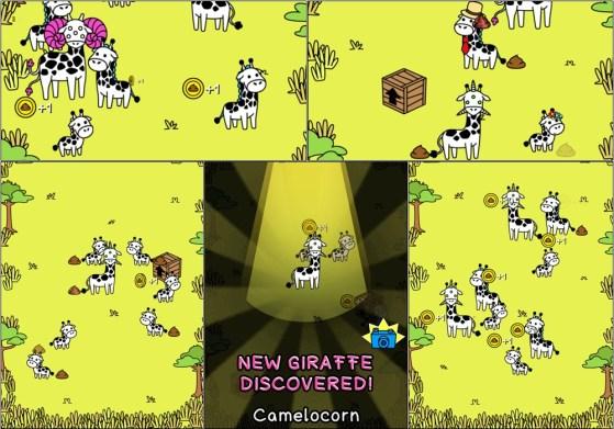 Game Giraffe Evolution