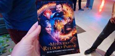 Pré-estreia exclusiva de O Mistério do Relógio na Parede