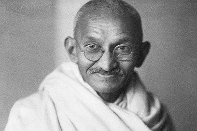 20 citações de Gandhi