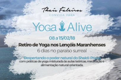 Yoga Alive – Lençóis Maranhenses