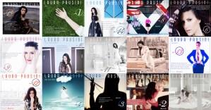 """Essas imagens foram retiradas da página oficial da Laura Pausini no Facebook, originalmente publicadas para a contagem regressiva até o lançamento do álbum """"Simili"""""""