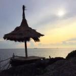 シーチャン島(ko sichang)で絶景の景色を眺める in Paree Hut