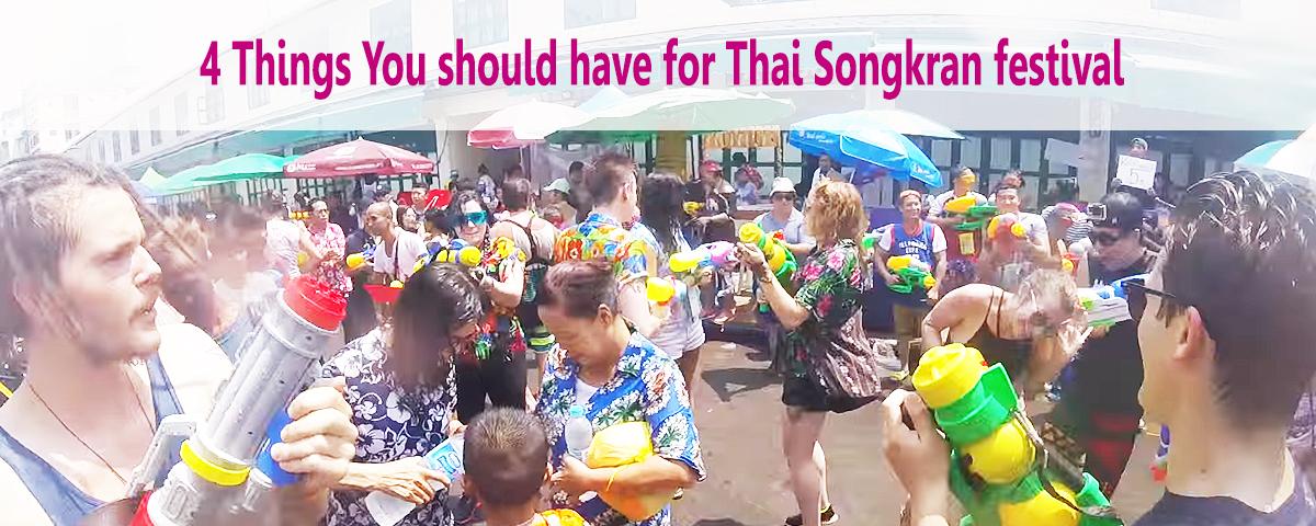 items for songkran water festival thaisims 4G pocket wifi rental