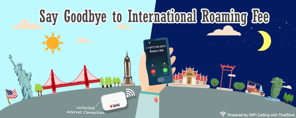 pocket wifi ThaiSims goodbye international roaming fee Banner 1200x480 World