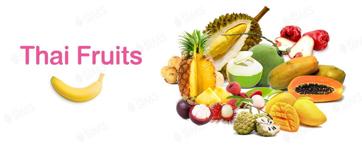 Thai Fruit Banner thailand ThaiSims
