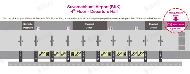 BKK Airport for Pickup and Return