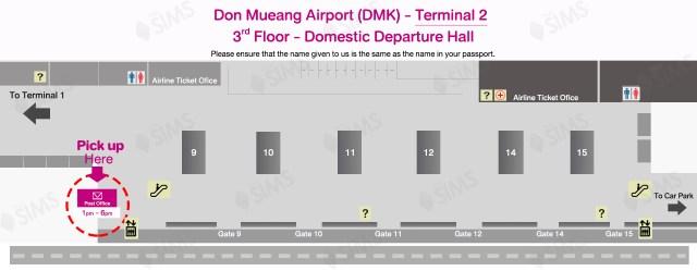 DMK Airport Terminal 2-Pickup