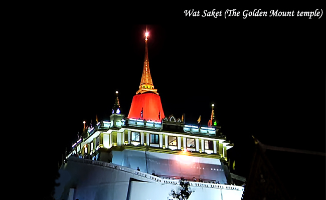 Loy Krathong Wat Sakret