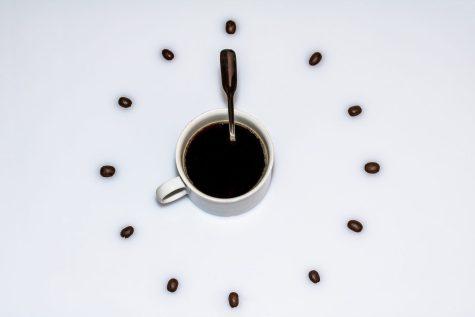 Foto de uma xicara de café
