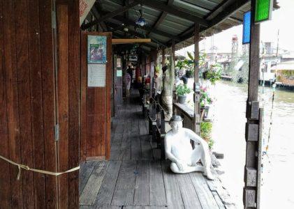 Khlong Bang Luang Floating Market: the quiet side of Bangkok