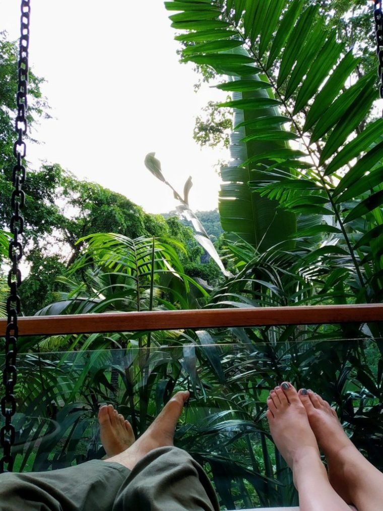 khao yai series resort balcony