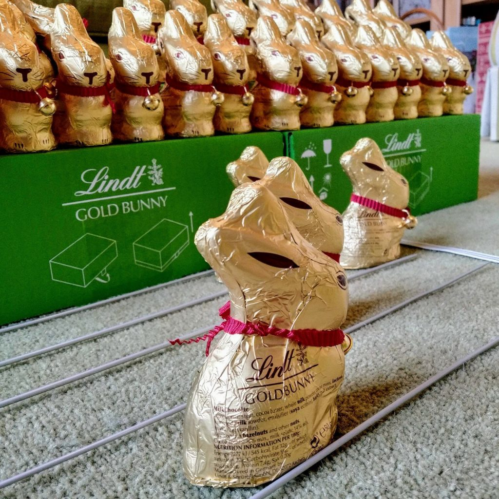 Updated: a tale of 115 Lindt bunnies 14