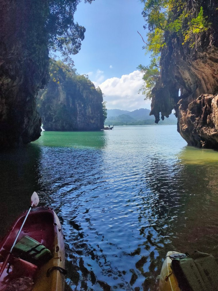 Kayaking in Krabi