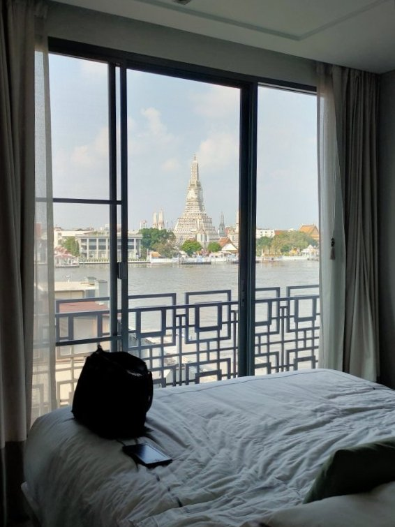 Riva Arun Bangkok staycation