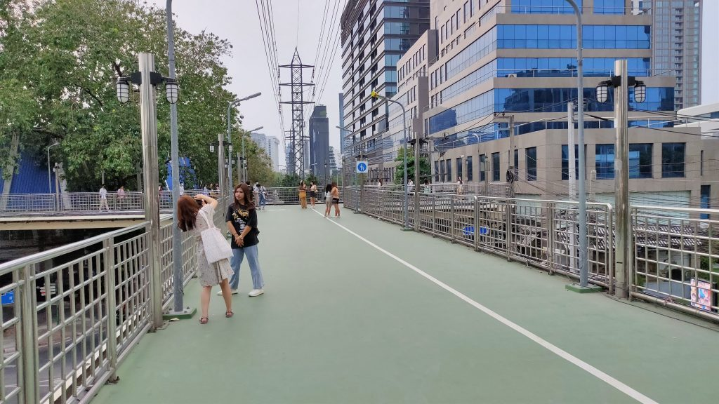 Walking the Green Mile Bangkok: Benjakitti to Lumpini 5