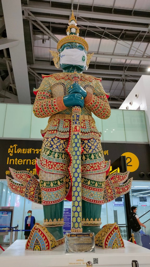 Forms, flights and sticks up noses: Bangkok to London in 2021 2