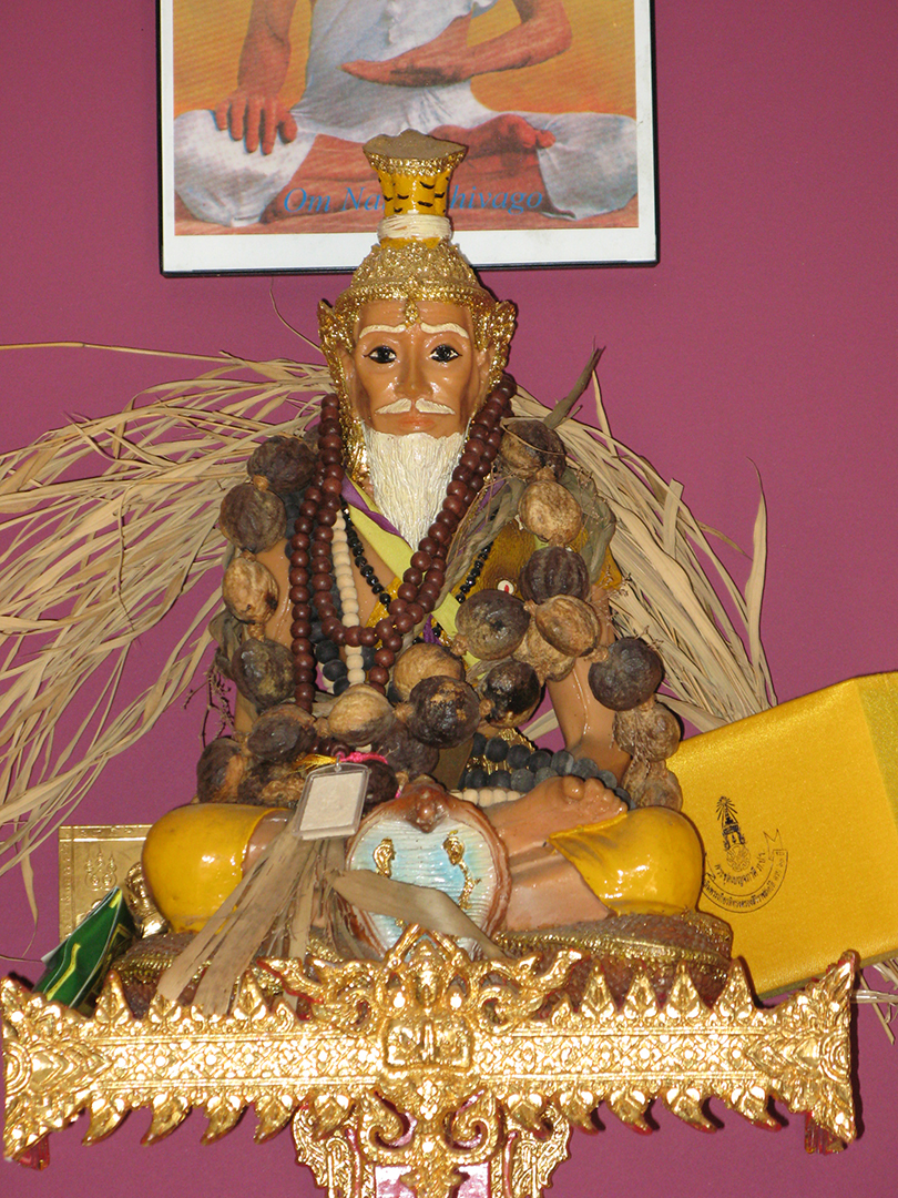 Jivaka- Shivago Statue at the Thai Yoga Center
