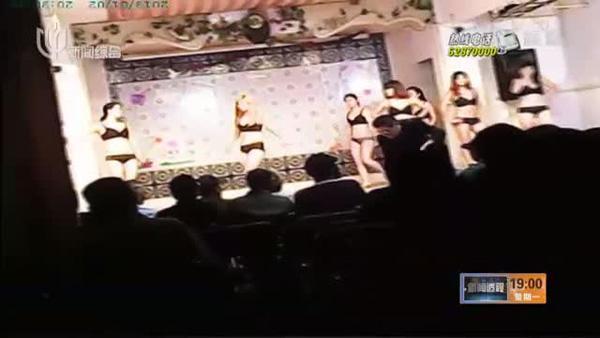 上海多家舞厅公开售票演艳舞 观众多为中老年人