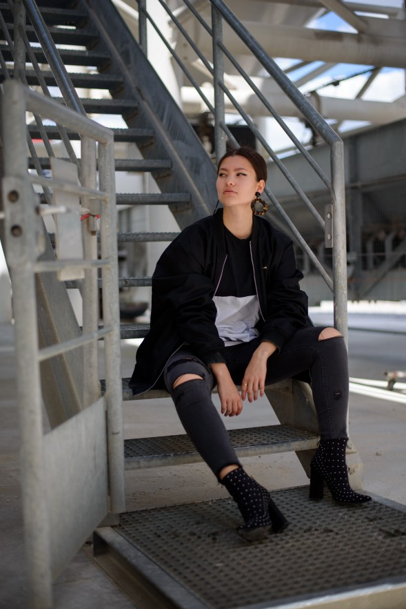 adidas missguided tenue fashion blogger blog mode21