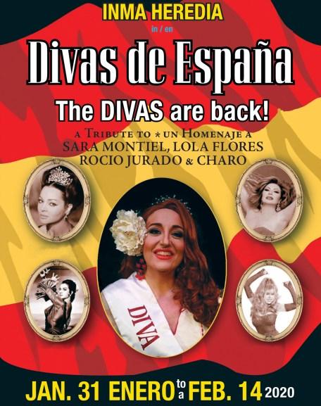 Divas de España show 2020