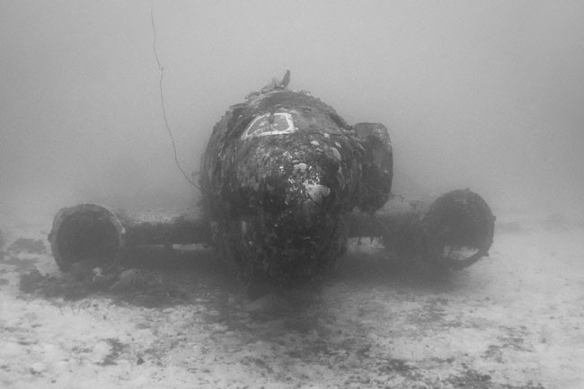 Here's-what-World-War-II-planes-now-look-like-in-their-underwater-graves2-650x433