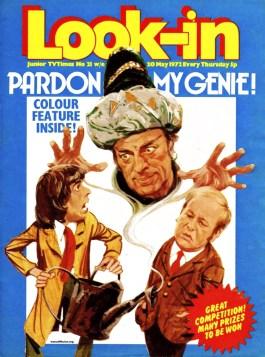 Look In - Pardon My Genie 20 May 1972