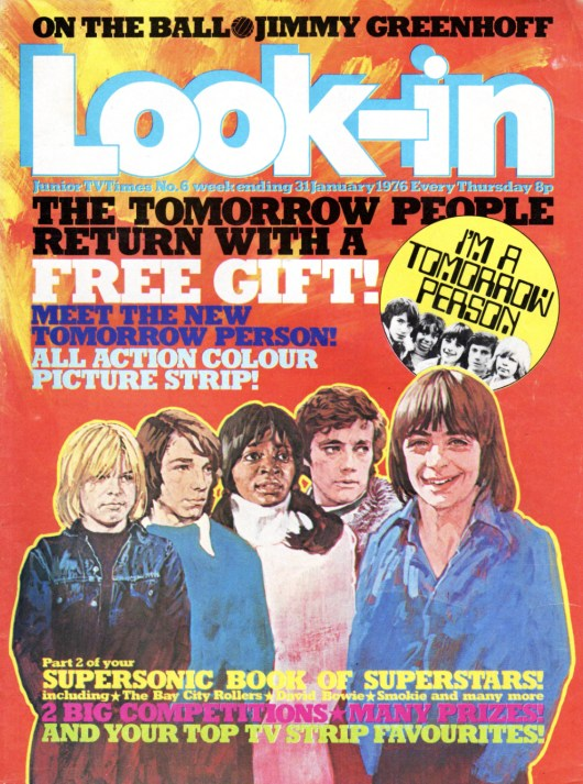 Look In - The Tomorrow People 31 January 1976