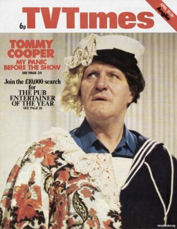 Tommy Cooper 20 April 1974