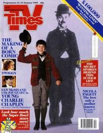 Young Chaplin 21 January 1989