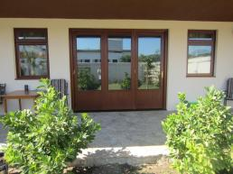 Authentic Timber Doors and Windows in a stain finish