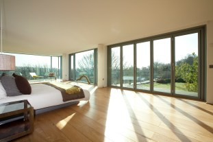 Schuco bifolding door set