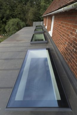Aluminium Skylight, fixed