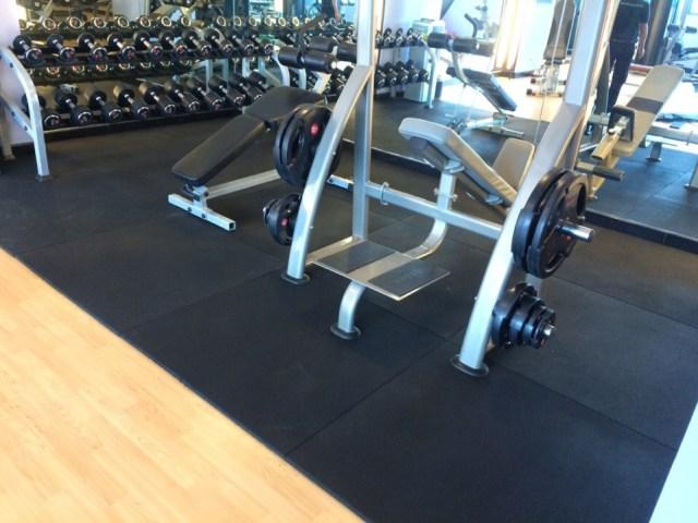 Thảm xốp tập Gym