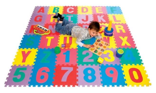 Thảm xốp trải sàn cho bé