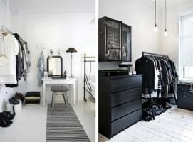 Kleines Schlafzimmer Mit Begehbarem Kleiderschrank Fein On ...