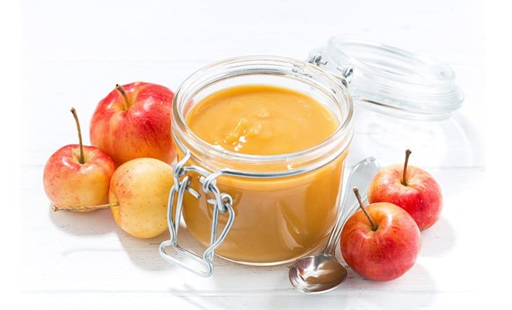 Fresh apple sauce