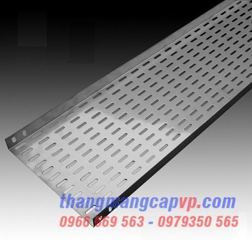 Khay cáp 300x50, cable tray 300x50 sơn tĩnh điện hoặc mạ kẽm