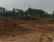 Triển khai xây dựng cơ sở hạ tầng Dự án đầu tư xây dựng nhà ở thương mại tại xã Đặng Cương