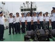 Vùng Cảnh sát biển 1 chuẩn bị cho hải trình mới