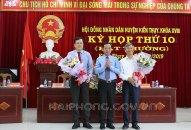 Đồng chí Nguyễn Văn Tuấn trúng cử chức danh Chủ tịch UBND huyện Kiến Thụy