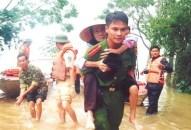 Lực lượng Công an nhân dân hưởng ứng Tuần lễ Quốc gia Phòng, chống thiên tai (15-22/5/2019)
