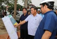 Chủ tịch UBND thành phố kiểm tra tiến độ thực hiện các dự án trọng điểm