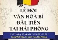 Lễ hội Văn hóa và Ẩm thực Bỉ tại Hải Phòng năm 2019