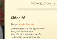 Nhạc sĩ Nguyễn Thụy Kha lần đầu chia sẻ về xuất xứ bài thơ được lưu giữ ở Đại học Havard