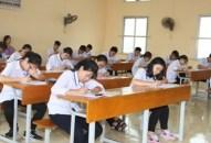 Đề xuất giảm 2 môn thi vào lớp 10