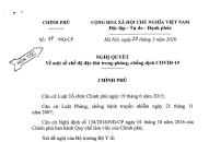 Một số chế độ đặc thù trong phòng, chống dịch COVID-19