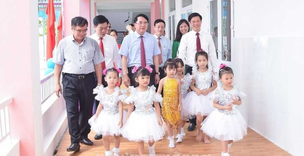 Huyện Thủy Nguyên: Khánh thành công trình Trường mầm non Sao Mai